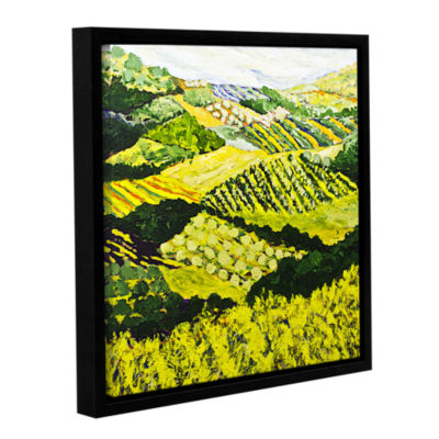 Brushstone Changing World Gallery Wrapped Floater-Framed Canvas Wall Art