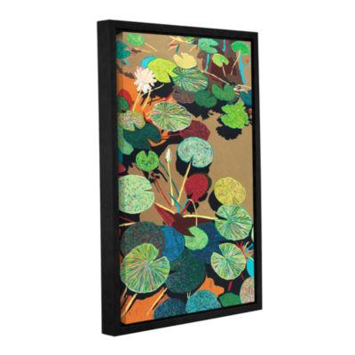 Brushstone Catfish Corner Gallery Wrapped Floater-Framed Canvas Wall Art