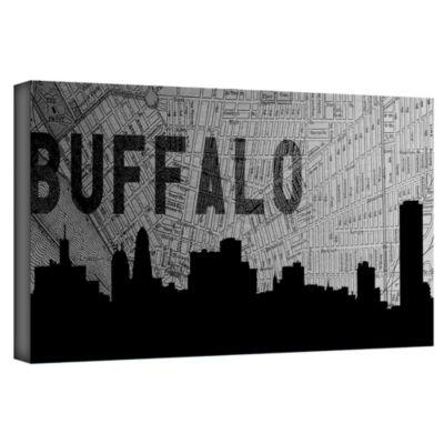 Brushstone Buffalo Gallery Wrapped Canvas Wall Art