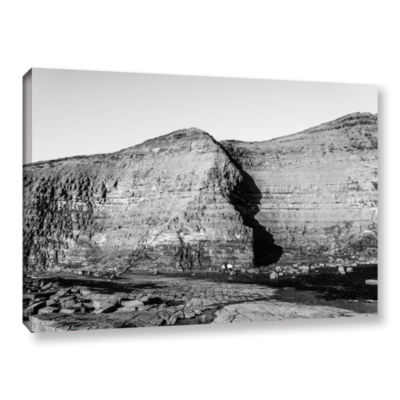 Brushstone Cave In Rock Wall Gallery Wrapped Canvas Wall Art