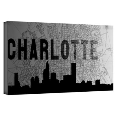 Brushstone Charlotte Gallery Wrapped Canvas Wall Art