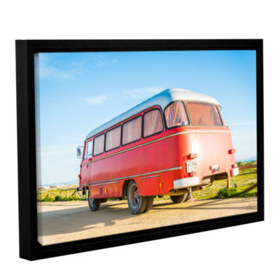 Brushstone Campervan Spain Gallery Wrapped Floater-Framed Canvas Wall Art