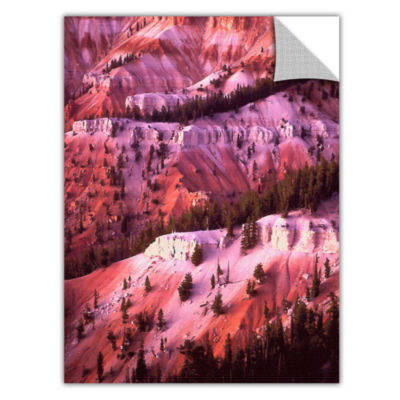 Brushstone Cedar Breaks Twilight Removable Wall Decal