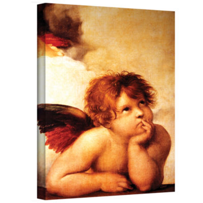 Brushstone Cherub Gallery Wrapped Canvas Wall Art