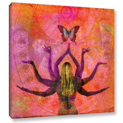 Brushstone Celestial Goddess Gallery Wrapped Canvas Wall Art