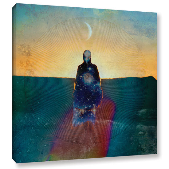 Brushstone Celestial Soul Gallery Wrapped Canvas Wall Art