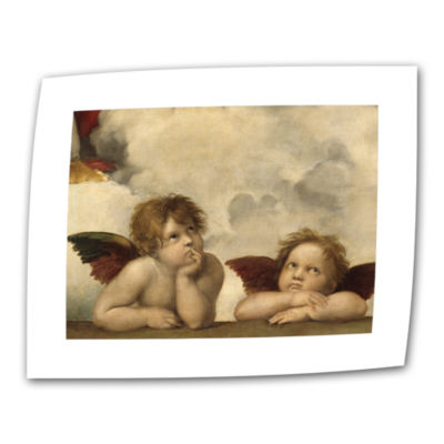 Brushstone Cherubs Canvas Wall Art