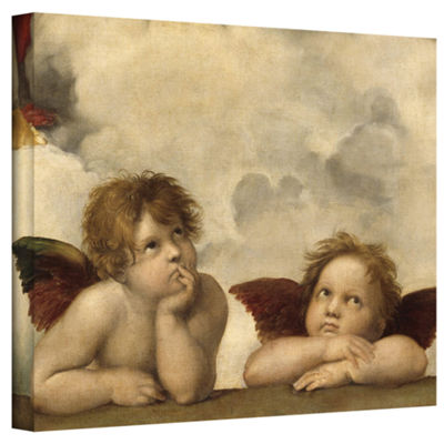 Brushstone Cherubs Gallery Wrapped Canvas Wall Art