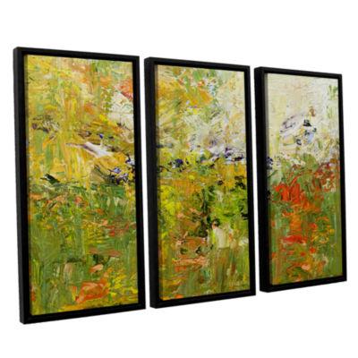Brushstone Chester 3-pc. Floater Framed Canvas Wall Art