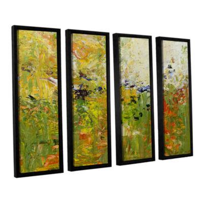 Brushstone Chester 4-pc. Floater Framed Canvas Wall Art