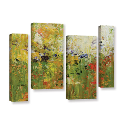 Brushstone Chester 4-pc. Gallery Wrapped StaggeredCanvas Wall Art