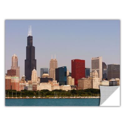Brushstone Chicago Skyline Removable Wall Decal