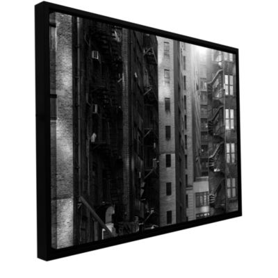 Brushstone Buildings Gallery Wrapped Floater-Framed Canvas Wall Art