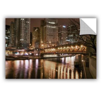 Brushstone Chicago-Michigan Avenue Bridge Removable Wall Decal