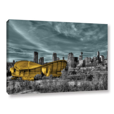 Brushstone Calgary Gallery Wrapped Canvas Wall Art