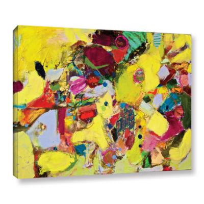 Brushstone Bumble Gallery Wrapped Canvas Wall Art