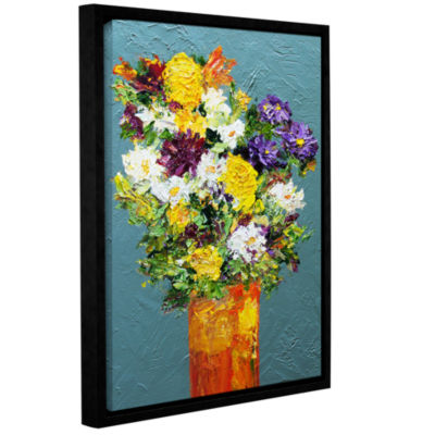 Brushstone Bundle Of Joy Gallery Wrapped Floater-Framed Canvas Wall Art