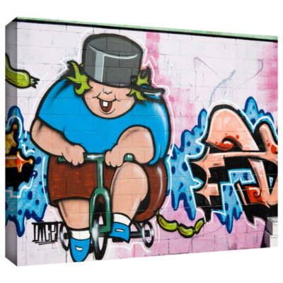 Brushstone Butch 1 Gallery Wrapped Canvas Wall Art