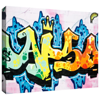 Brushstone Butch 5 Gallery Wrapped Canvas Wall Art
