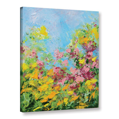 Brushstone Butchart Garden Gallery Wrapped CanvasWall Art