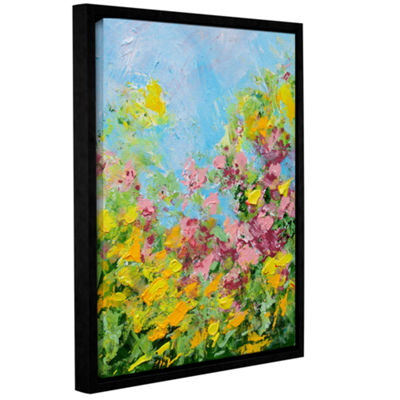 Brushstone Butchart Garden Gallery Wrapped Floater-Framed Canvas Wall Art