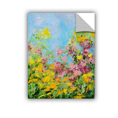 Brushstone Butchart Garden Removable Wall Decal