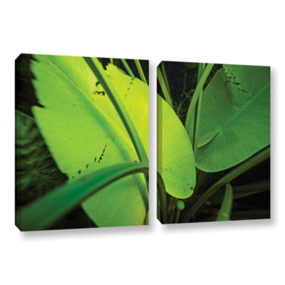 Brushstone Butler Lake #1 2-pc. Gallery Wrapped Canvas Wall Art
