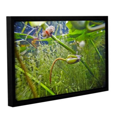 Brushstone Butler Lake #10 Gallery Wrapped Floater-Framed Canvas Wall Art