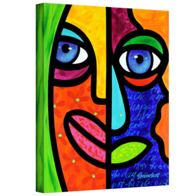 Brushstone Candy Dandee Gallery Wrapped Canvas Wall Art