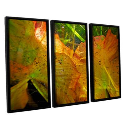 Brushstone Butler Lake #11 3-pc. Floater Framed Canvas Wall Art