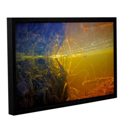 Brushstone Butler Lake #3 Gallery Wrapped Floater-Framed Canvas Wall Art