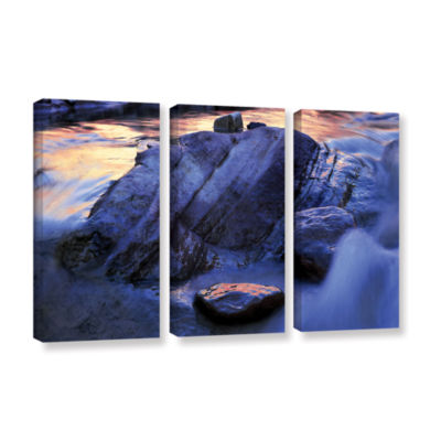 Brushstone Canyon Colours 3-pc. Gallery Wrapped Canvas Wall Art