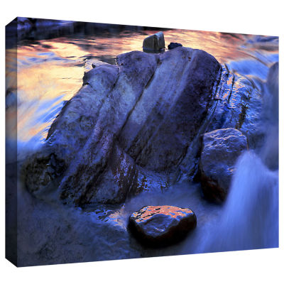 Brushstone Canyon Colours Gallery Wrapped Canvas Wall Art