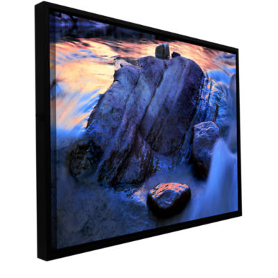 Brushstone Canyon Colours Gallery Wrapped Floater-Framed Canvas Wall Art