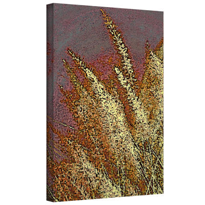 Brushstone Canyon Grass Gallery Wrapped Canvas Wall Art