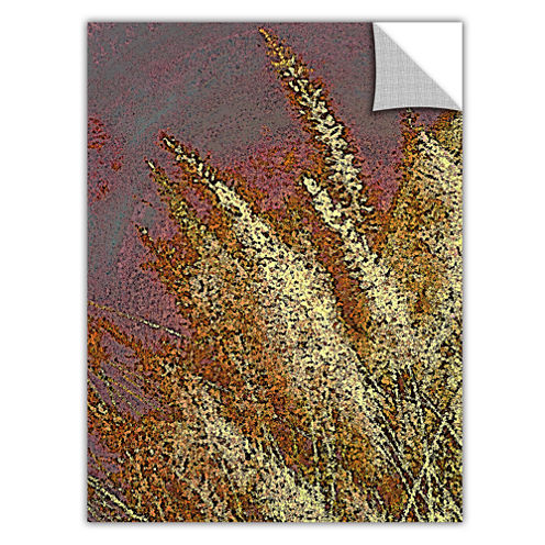 Brushstone Canyon Grass Removable Wall Decal