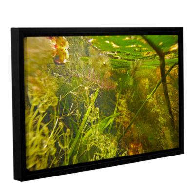 Brushstone Butler Lake #4 Gallery Wrapped Floater-Framed Canvas Wall Art