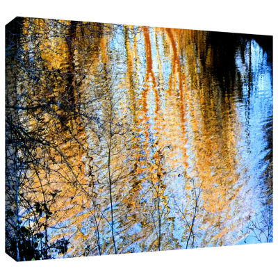 Brushstone Canyon Light (Forest) Gallery Wrapped Canvas Wall Art