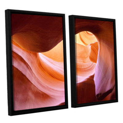 Brushstone Canyon Of The Navajo 2-pc. Floater Framed Canvas Wall Art