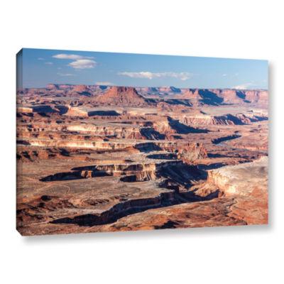 Brushstone Canyonlands Horizontal Gallery Wrapped Canvas Wall Art