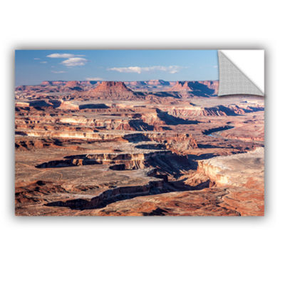 Brushstone Canyonlands Horizontal Removable Wall Decal