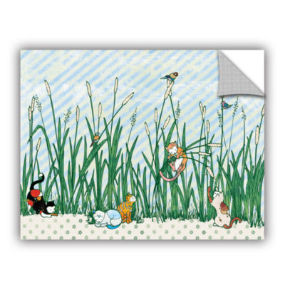 Brushstone Cattails Removable Wall Decal