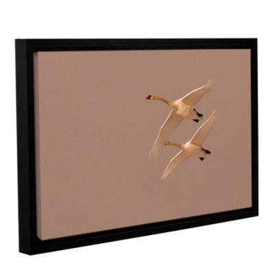 Brushstone Brushes 009 Gallery Wrapped Floater-Framed Canvas Wall Art