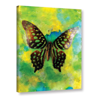 Brushstone Butterfly Gallery Wrapped Canvas Wall Art