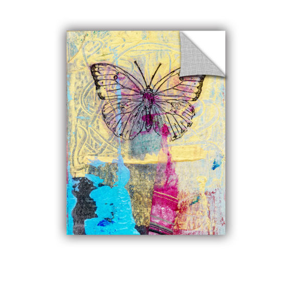 Brushstone Butterfly II Removable Wall Decal