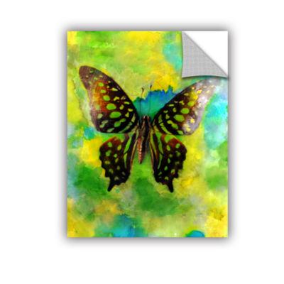 Brushstone Butterfly Removable Wall Decal