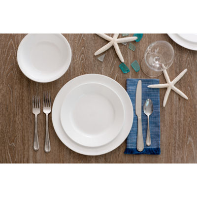 Corelle Boutique Shimmering White 16-pc. Dinnerware Set