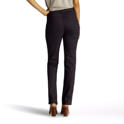 Lee Classic Fit Color Straight Leg Jeans-Petites