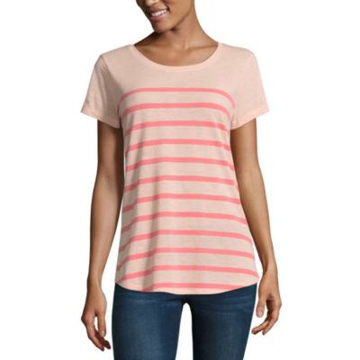 a.n.a Ana Striped Boyfriend Tee