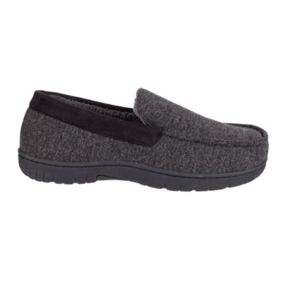 Stafford® Textured Jersey Venetian Slippers